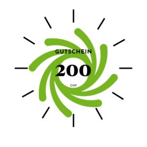 Geschenkgutschein 200